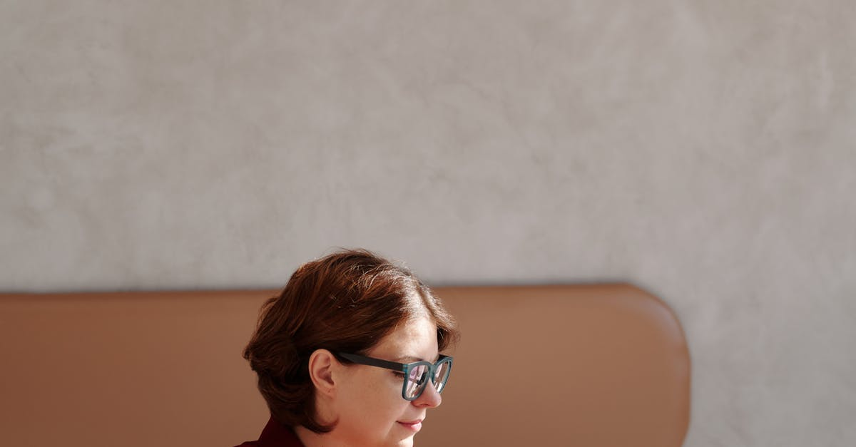 A person in glasses looking at the camera